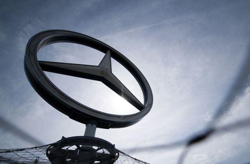 Autoabsatz von Mercedes Benz geht zurück