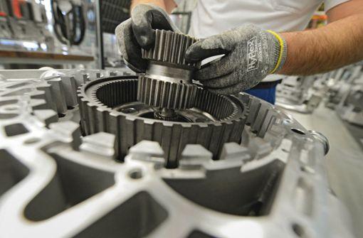 Maschinenbau sieht Ende der    Talfahrt