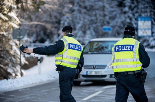 10.000 Zurückweisungen an Grenzen zu Tschechien und Tirol