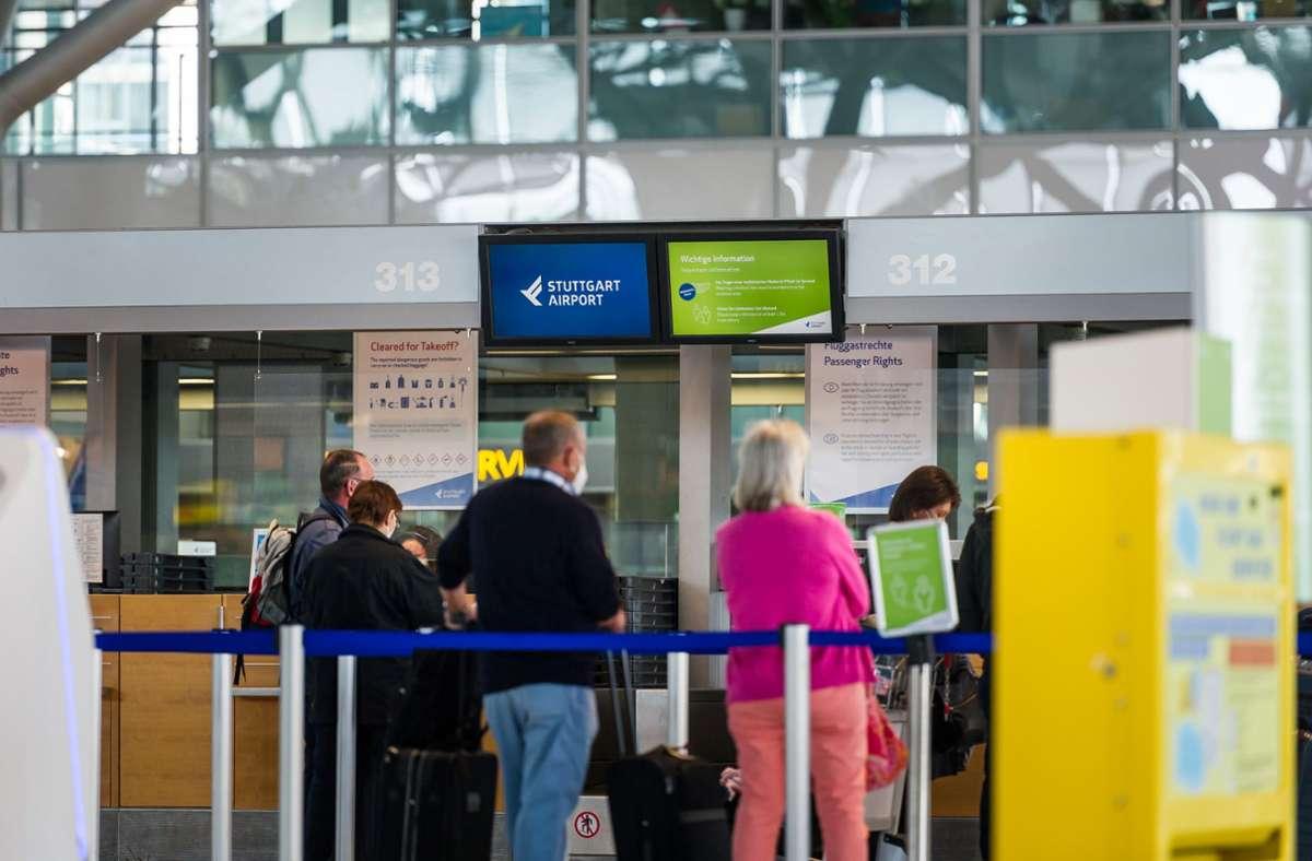 Flughafen in Stuttgart (Archivbild) Foto: Lichtgut/Max Kovalenko