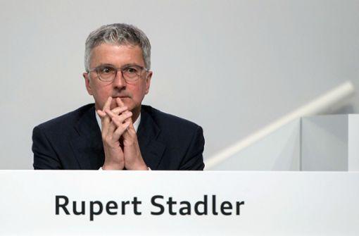 Ex-Audi-Chef Rupert Stadler wird angeklagt