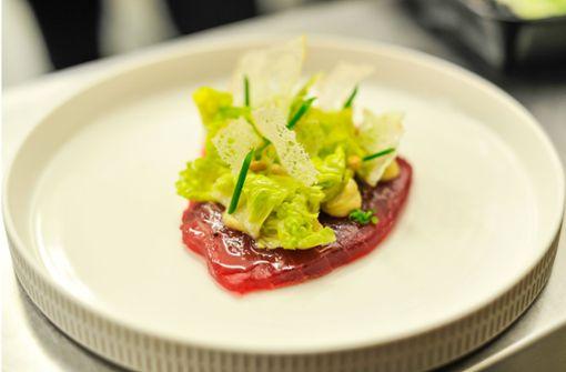 Aus dem Schweizers: Thunfisch mit Parmesancreme