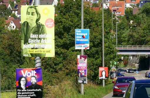 Wann müssen Wahlplakate abgehängt sein?