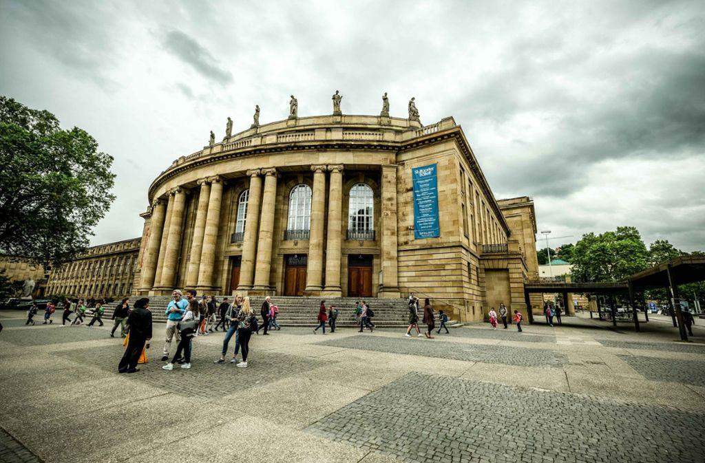 In dieser Spielzeit läuft nichts mehr: das Opernhaus in Stuttgart. Foto: Lichtgut/Leif Piechowski