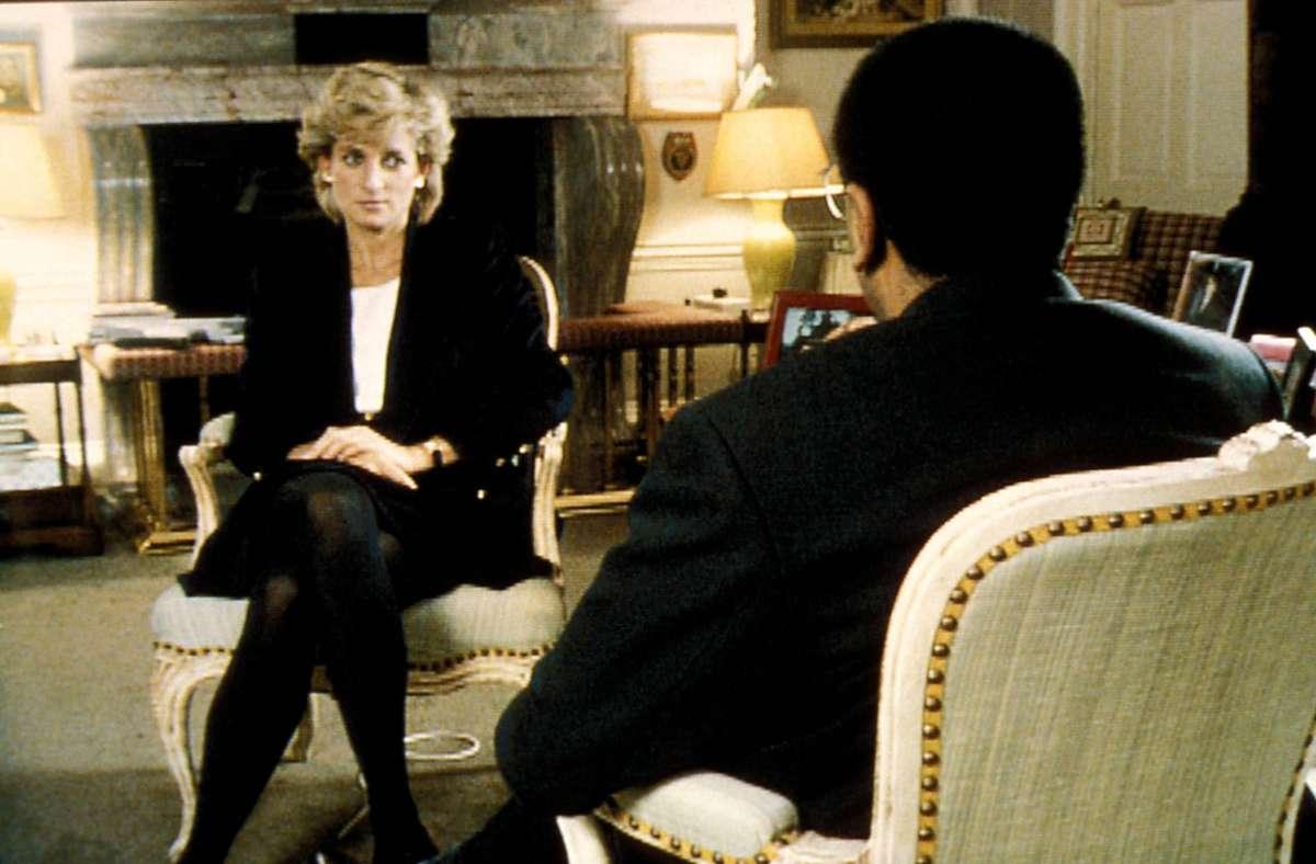 1995 gab Prinzessin Diana dem Fernsehjournalisten Martin Bashir ein skandalös offenes Interview. Foto: imago/ZUMA Press