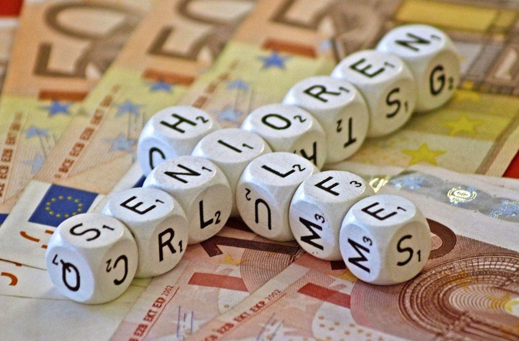 Hilfsangebote für Senioren kosten Geld. Die Betreuungsvereine sind ein solches Hilfsangebot, doch sie sind unterfinanziert. Foto: Archiv Rüdiger Ott