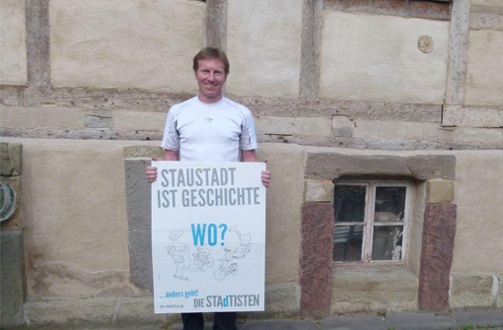 """Gemeinderatsmitglied Ralph Schertlen: """"Ich werde nicht allein im Rathaus kämpfen."""" Foto: Eva Tilgner"""