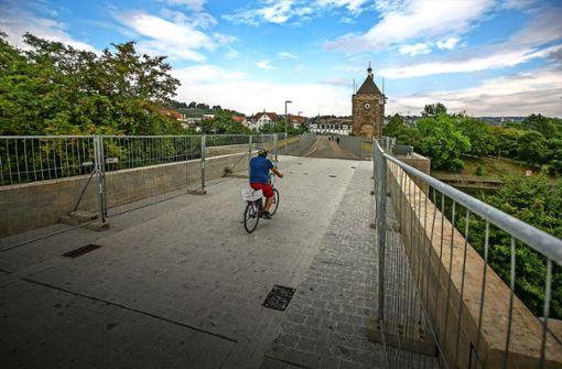 Pliensaubrücke soll bald neue Geländer bekommen