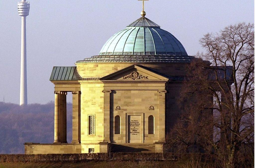 König Wilhelm I. ließ die Grabkapelle auf dem Württemberg für seine geliebte Katharina bauen. Foto: dpa