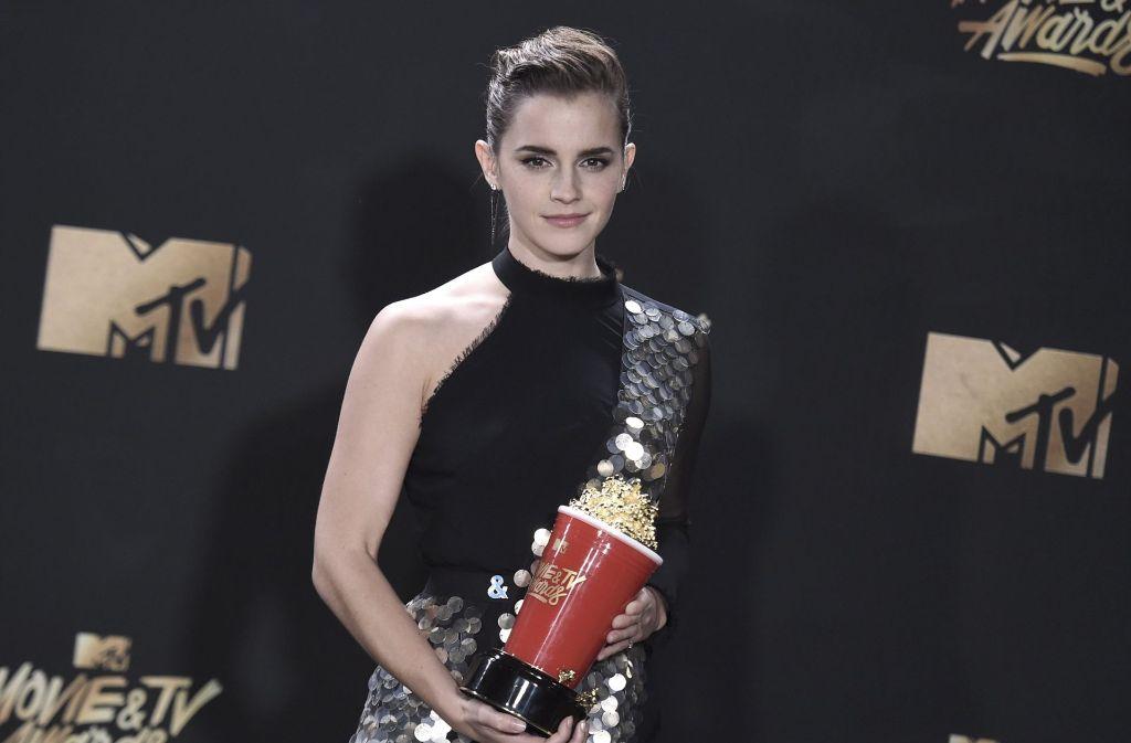 Emma Watson ist beim MTV-Filmpreis ausgezeichnet worden. Foto: Invision/AP
