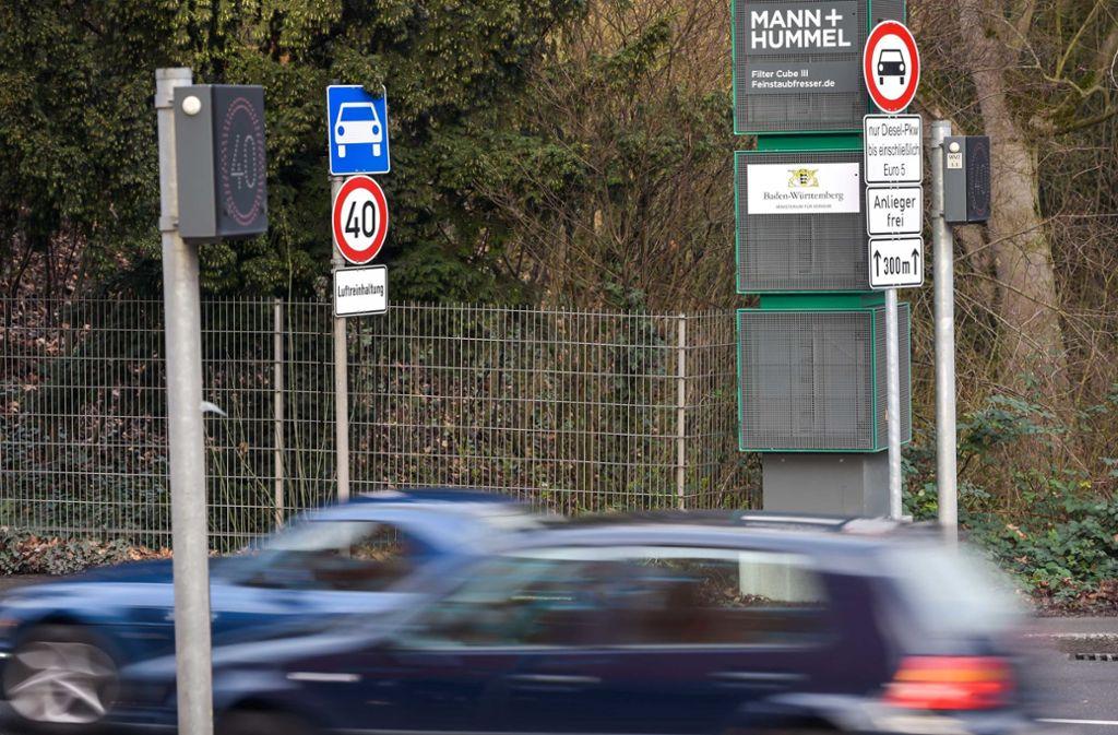 In Stuttgart sind viele Maßnahmen zur Verbesserung der Luftqualität unternommen worden. Dennoch kann der Grenzwert für Stickstoffdioxid voraussichtlich 2020 nicht eingehalten werden. Foto: Lichtgut/Max Kovalenko