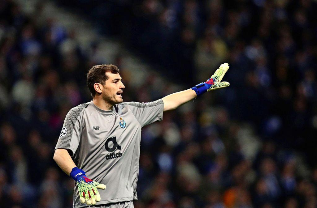 Iker Casillas befindet sich derzeit im Krankenhaus. Foto: AP