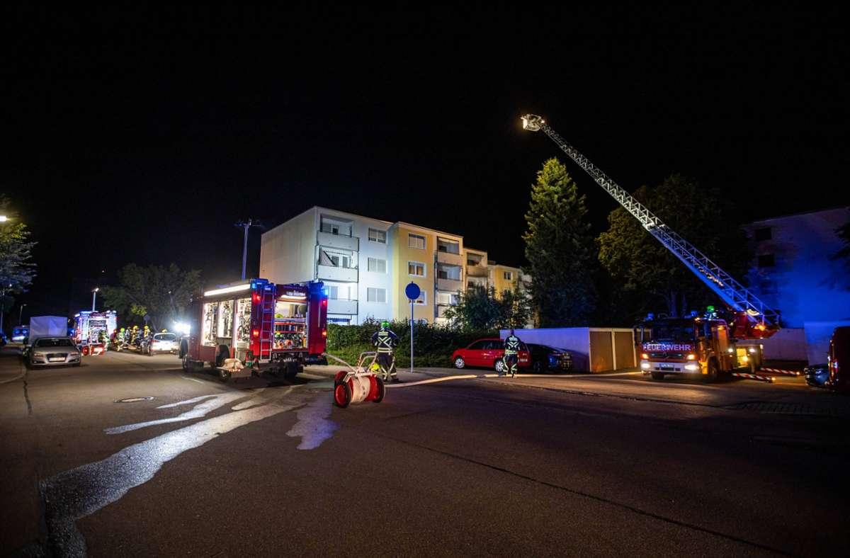 35 Einsatzkräfte waren im Einsatz. Foto: 7aktuell.de//Simon Adomat