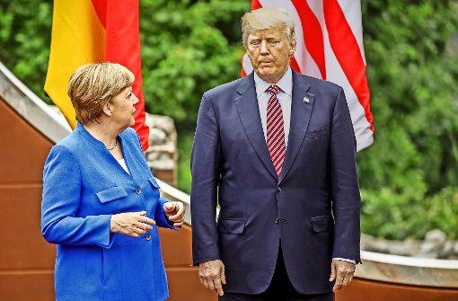 Auf dem Gipfel sind die USA isoliert
