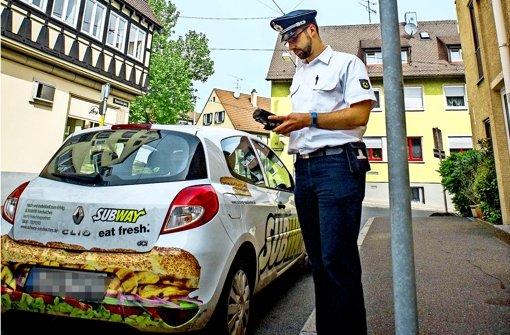 Mobile Teams gegen Verkehrsrowdys