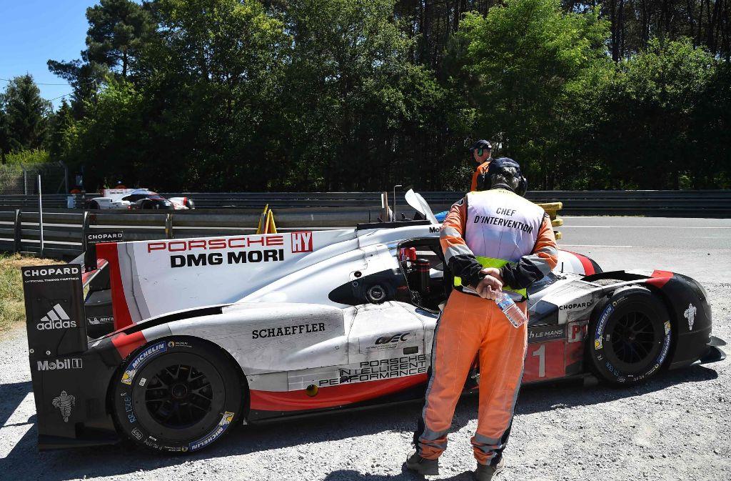 Porsche siegt in Le Mans. Foto: AFP