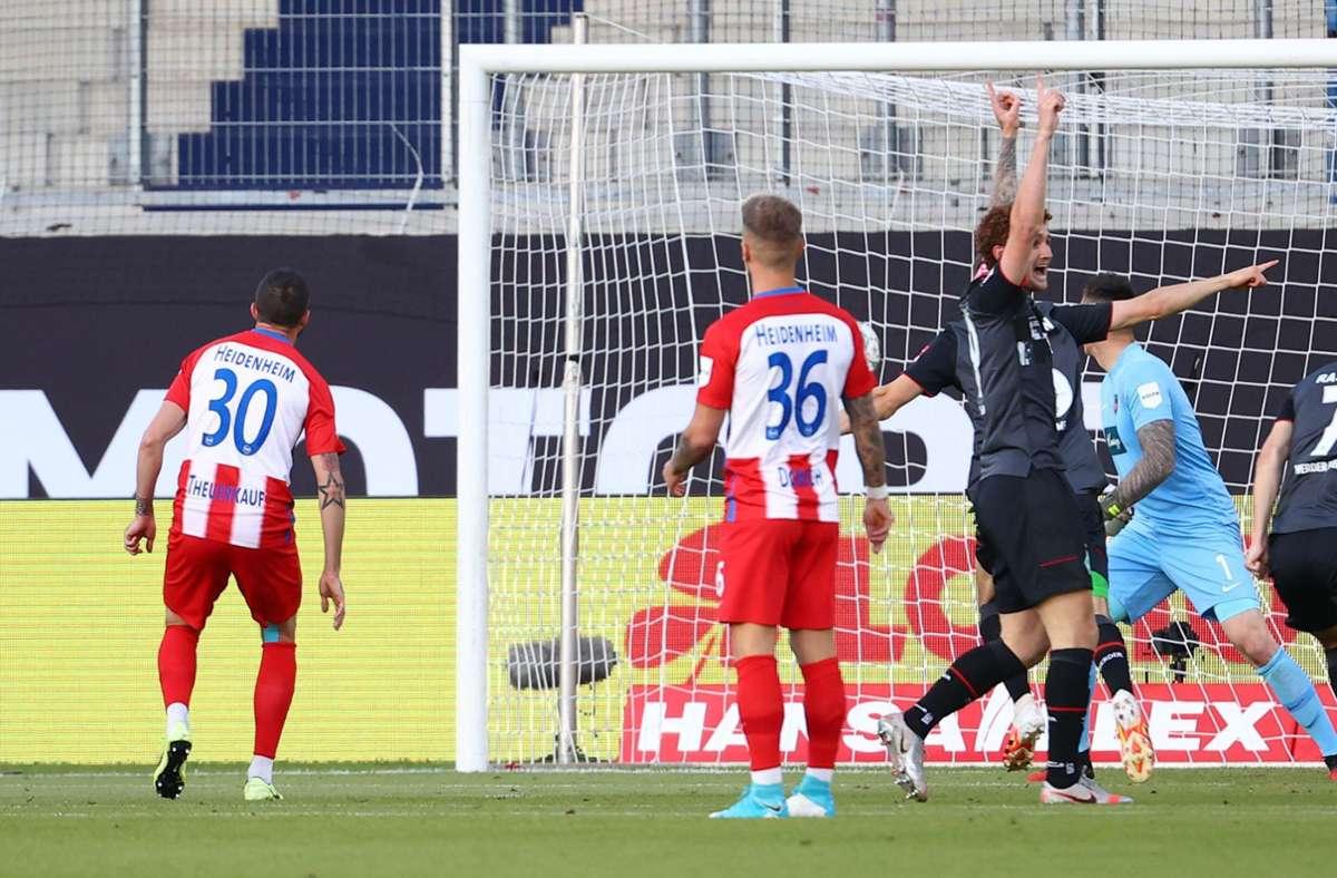 Einige DAZN-Kunden verpassten die frühe Führung für Werder Bremen. Foto: AFP/KAI PFAFFENBACH