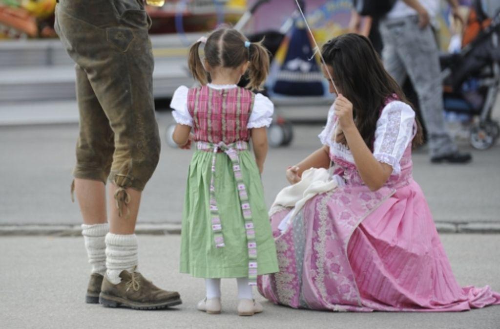 Die Heimat der Lederhose und Dirndl? Bayern! Foto: dpa