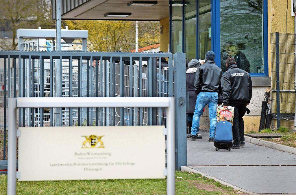 Der Gemeinderat entscheidet in der nächsten Woche, ob die Flüchtlingsunterkunft bis 2024 weiterbetrieben wird. Foto: dpa