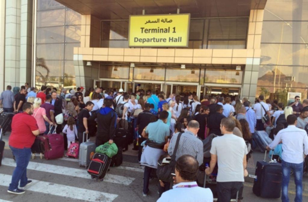 Die Sicherheitsmaßnahmen an ägyptischen Flughäfen wie dem von Scharm el Scheich  sind mangelhaft. Foto: dpa