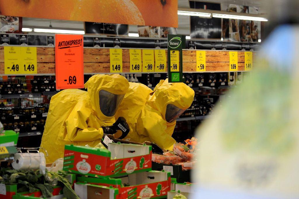 Die Spinne, die den Einsatz in Kornwestheim ausgelöst hat, war keine giftige Bananenspinne, sondern eine Erd-Wolfspinne. Foto: www.7aktuell.de | Oskar Eyb