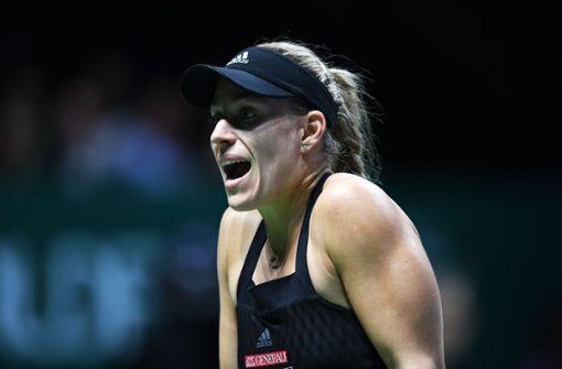 Angelique Kerber verpasst Halbfinale