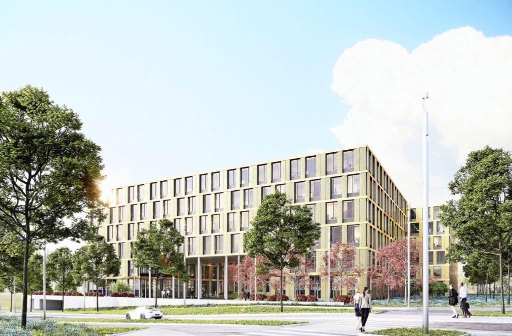 Der Baubeginn für das  sogenannte W9 soll  im dritten Quartal dieses Jahres erfolgen. Einziehen wird das Unternehmen Vector. Foto: Wöhr +   Bauer GmbH