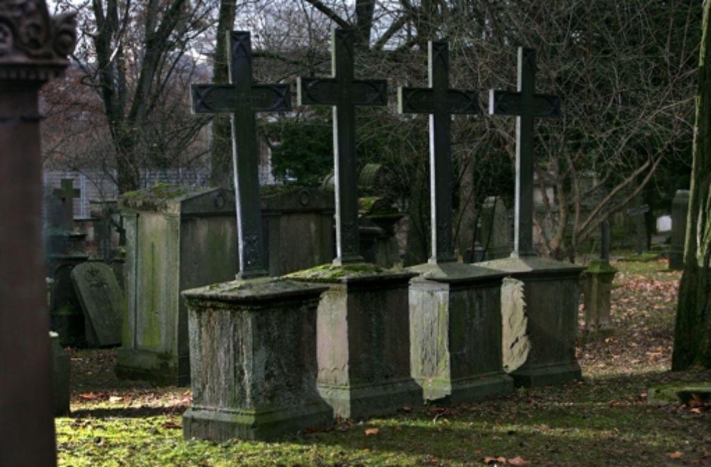 Der Großteil der 1700 Gräber ist in einem desolaten Zustand. Foto: