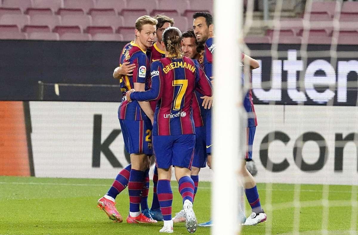 Der FC Barcelona weilt zum Trainingslager im Schwarzwald. (Archivbild) Foto: imago images/Alterphotos/Acero