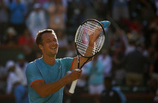 Philipp Kohlschreiber siegt überraschend gegen Novak Djokovic