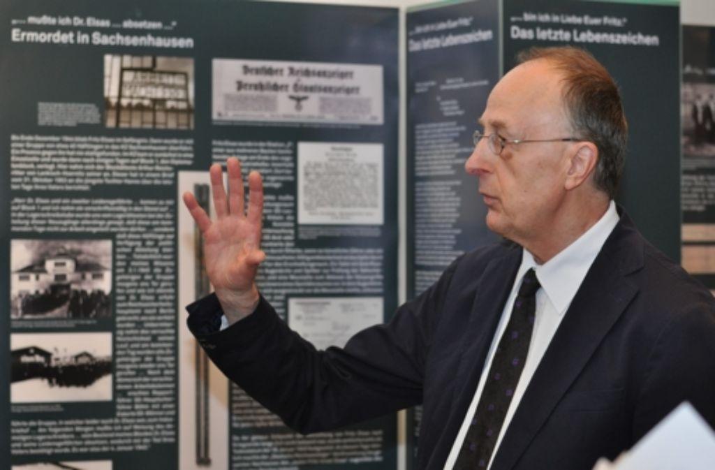 Manfred Schmid vom Planungsstab Stadtmuseum hat die neue Schau mit konzipiert. Foto: Claudia Leihenseder