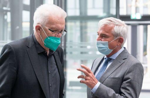 Kretschmann: Grün-Schwarz muss wegen Geldmangels langsamer vorgehen