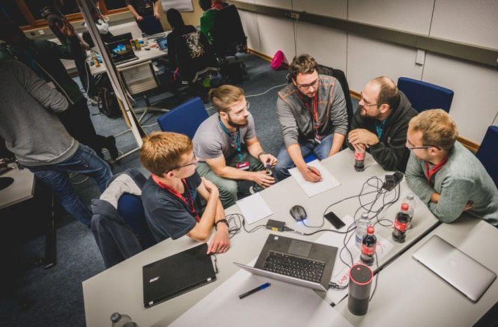 """Beim Programm """"startup.Connect Talents"""" der Hochschule Offenburg geht es stark ums Teamwork. Foto: WRO"""