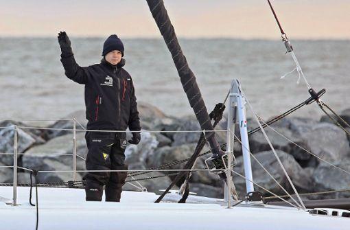 Greta Thunberg kommt zu spät