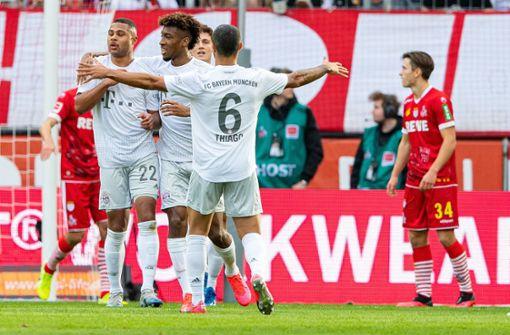 FC Bayern überrennt den 1. FC Köln in den Anfangsminuten