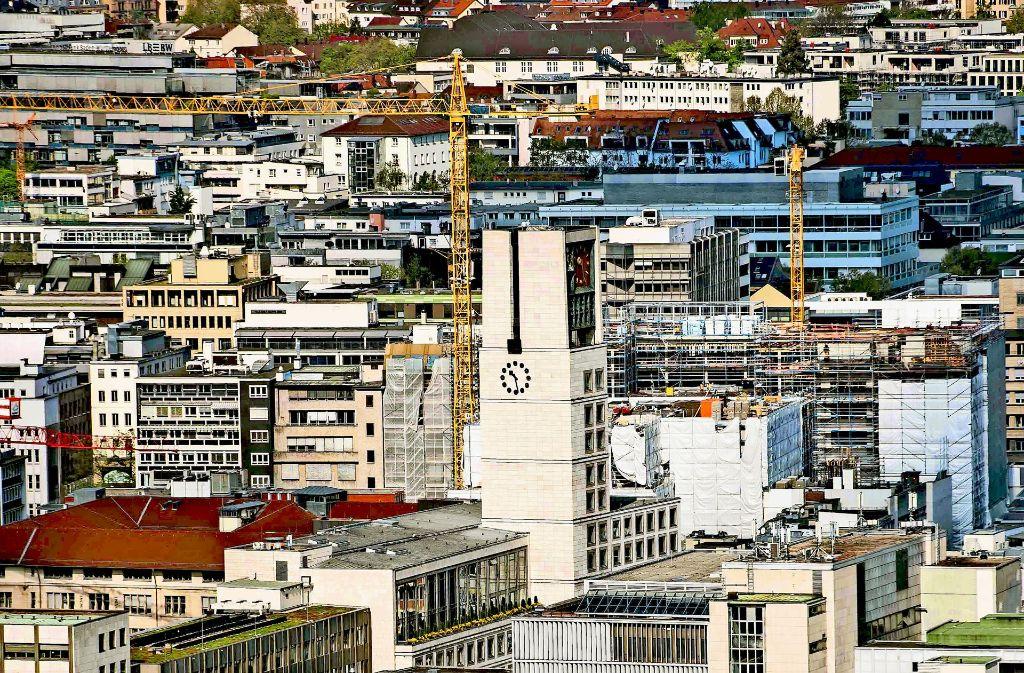 Laut Stadt gibt es noch Platz für 24000 Wohnungen in Stuttgart. Dennoch verfehlt man das selbst gesetzte Ziel beim Wohnungsbau Jahr für Jahr deutlich. Foto: Lichtgut/Max Kovalenko