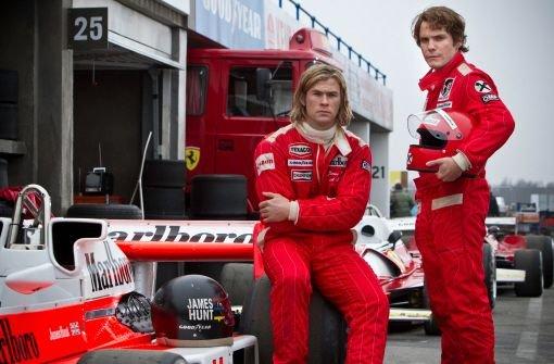 Daniel Brühl gibt als Niki Lauda mächtig Gas