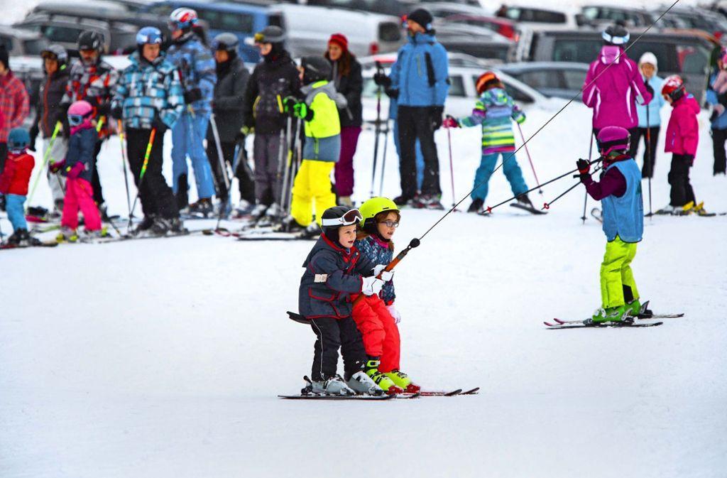 Der Winter 2019 gilt angesichts des Wärmeeinbruchs als Auslaufmodell. Mit etwas Glück können die Skiläufer ihrem Vergnügen  am Wochenende  noch einmal frönen. Foto: Michael Steinert