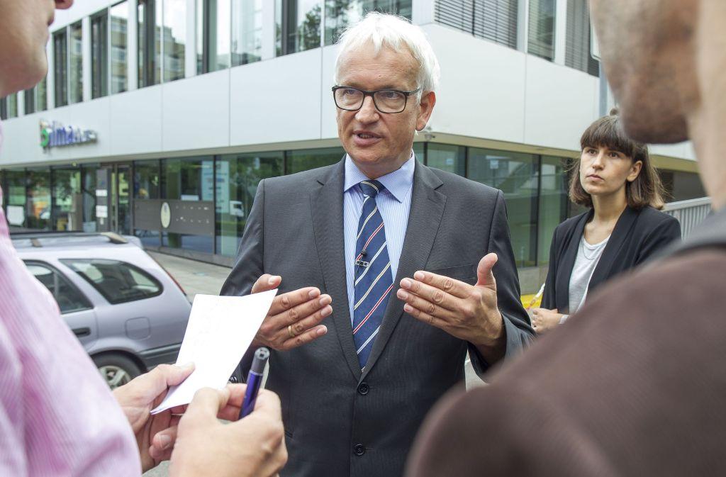 Die Umwelthilfe sei parteipolitisch unabhängig und  als gemeinnützig anerkannt, sagt Bundesgeschäftsführer Jürgen Resch. Foto: Lichtgut/Leif Piechowski