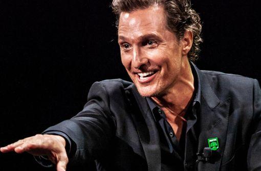 Flachwitze mit Matthew McConaughey