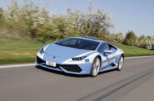 Bolognas Beamte fahren Lamborghini