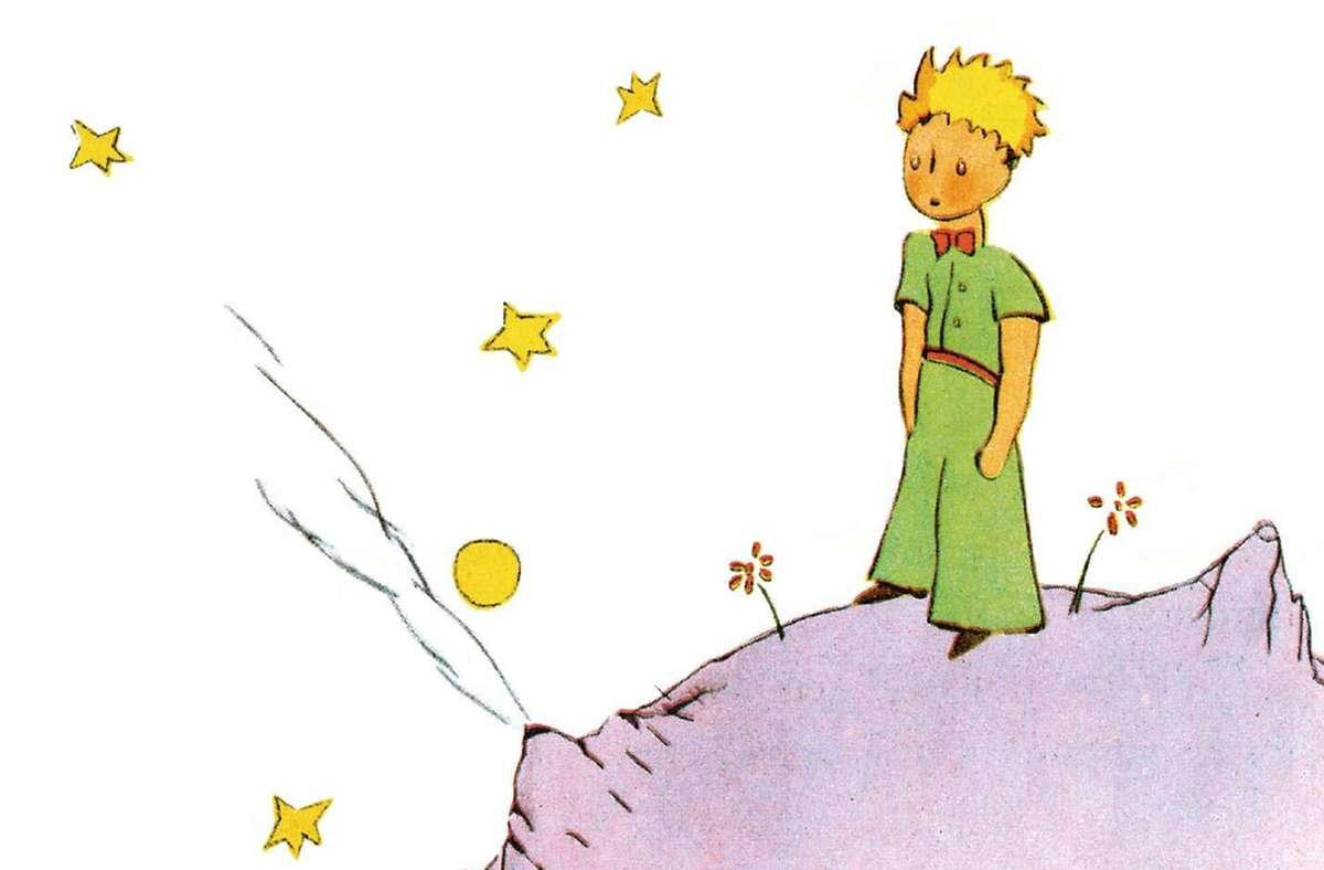 """Ausschnitt aus dem Buchcover von """"Der kleine Prinz"""" Foto: Anaconda Verlag"""