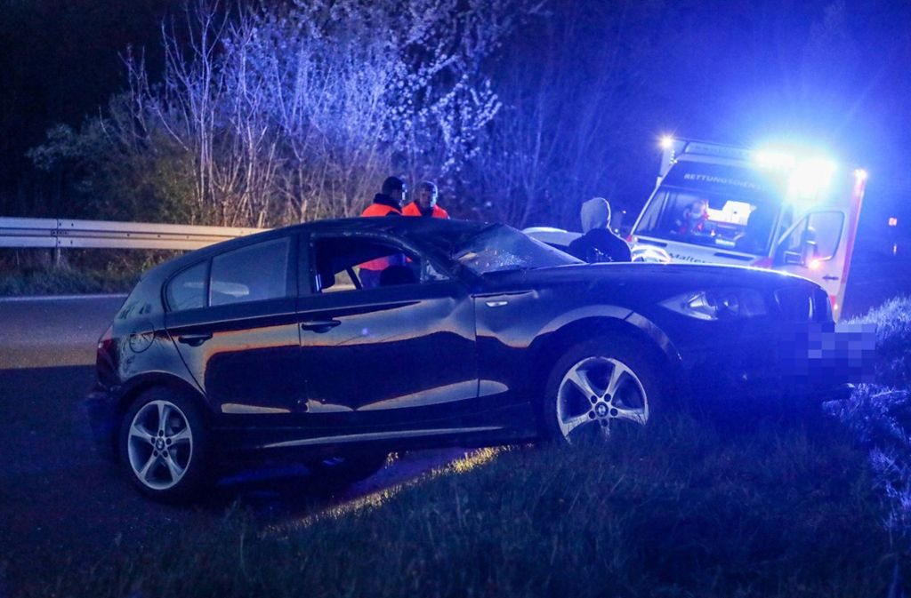 Der Fahrer des BMW blieb unverletzt. Foto: /7aktuell.de/Christina Zambito