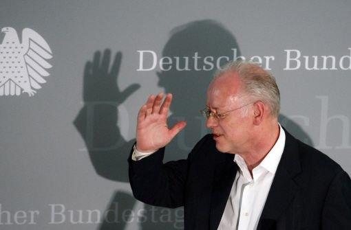Rudolf Scharping sagt vor Untersuchungsausschuss aus