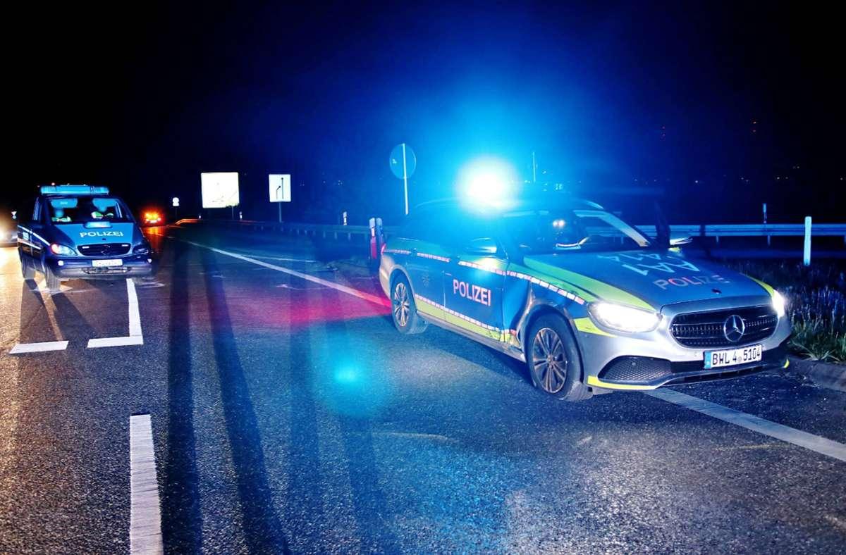 Im Rems-Murr-Kreis sind zwei Polizeiautos zusammengestoßen. Foto: 7aktuell.de/Kevin Lermer