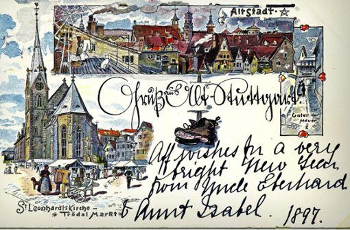 So malerisch war Stuttgart einst