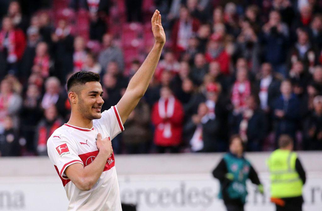 Kurzes Intermezzo: Nach nur fünf Monaten ist das Kapitel VfB für Ozan Kabak bald vorbei. Foto: Bongarts