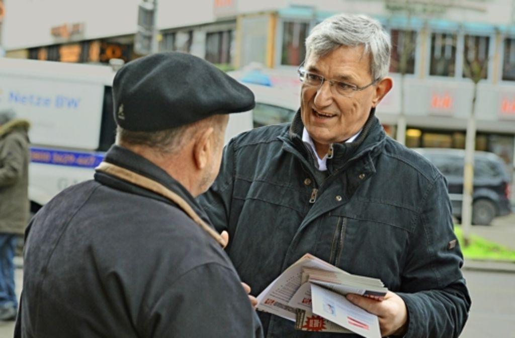 Bernd Riexinger will die Linke als Spitzenkandidat in den Landtag führen. Foto: dpa
