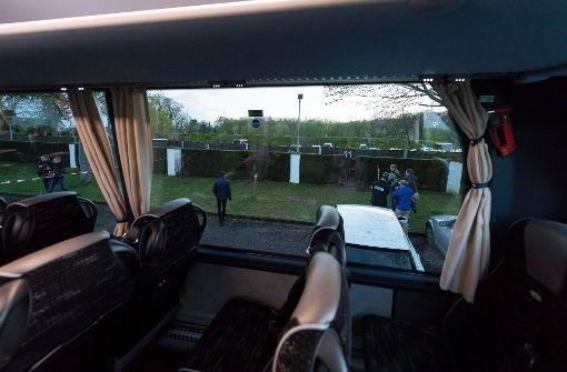 Am 11. April explodierten mehrer Sprengsätze, als sich der Mannschaftsbus von Borussia Dortmund vom Teamhotel auf zum Stadion machte. Foto: dpa