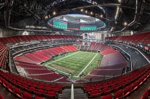 So gigantisch ist die Spielstätte des Super Bowls